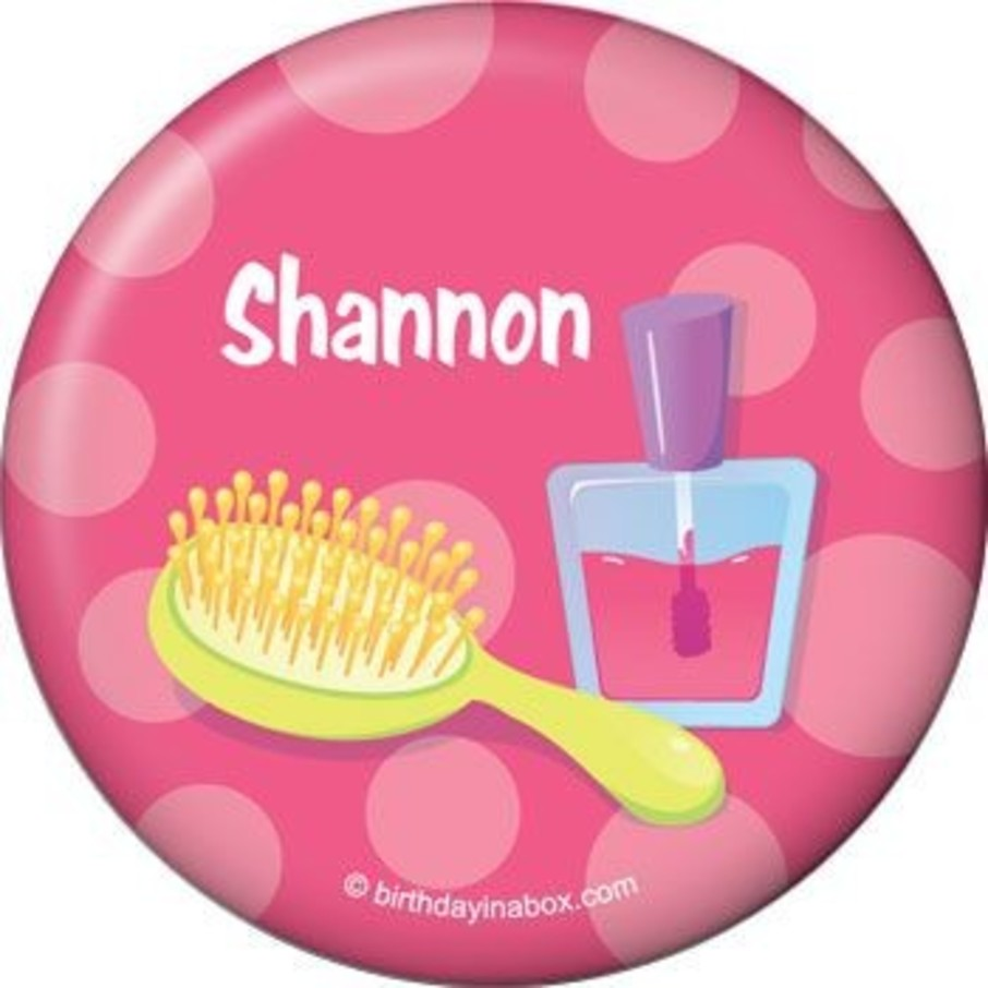 View larger image of Glamorous Party Personalized Button (each)