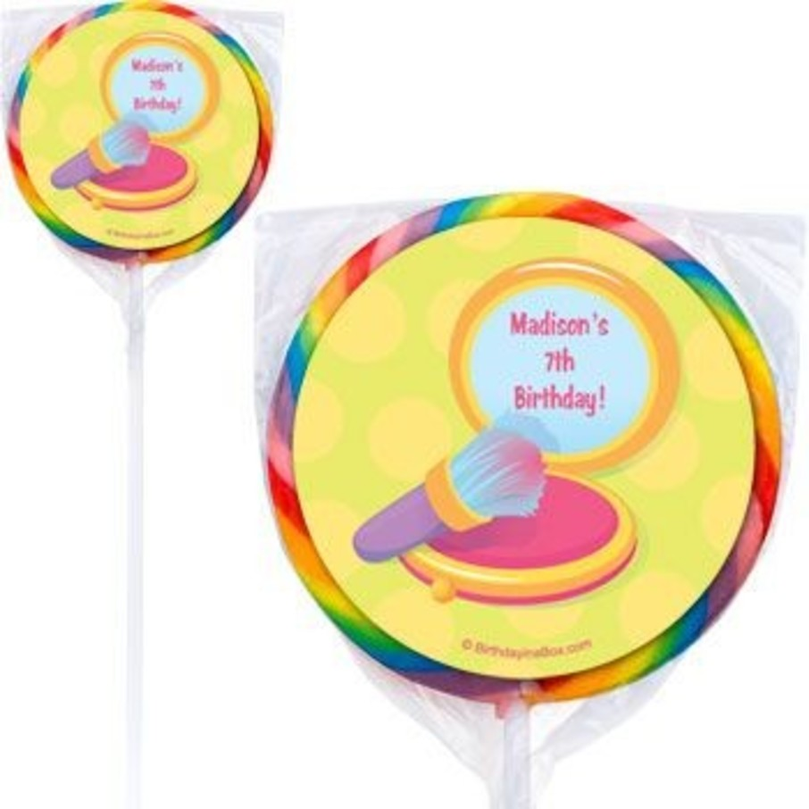 View larger image of Glamorous Party Personalized Lollipops (pack of 12)