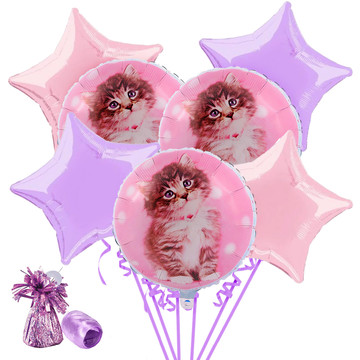 Glamour Cats by Rachael Hale Balloon Bouquet Kit