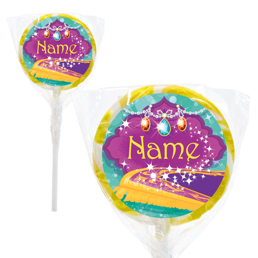 """View larger image of Glisten and Sparkle Personalized 2"""" Lollipops (20 Pack)"""