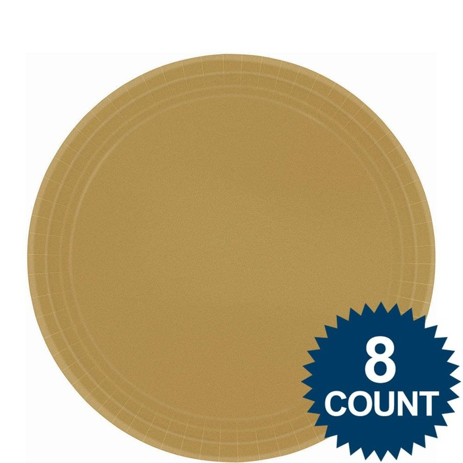 View larger image of Dinner Plate - Gold (8)