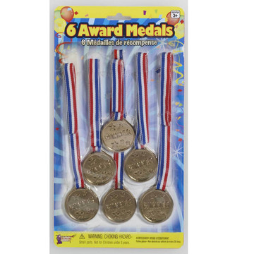 Gold Award Medals (6)