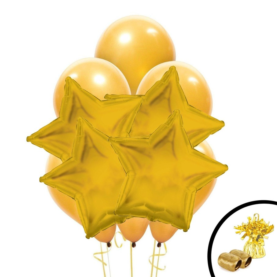 View larger image of Gold Balloon Bouquet