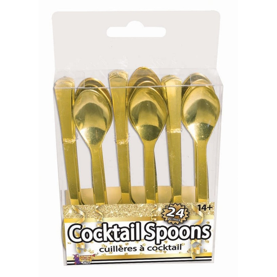 View larger image of Gold Cocktail Spoons, 24ct