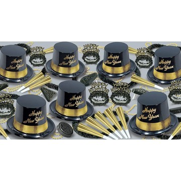 Gold Legacy New Year's Party Kit (For 25 People)