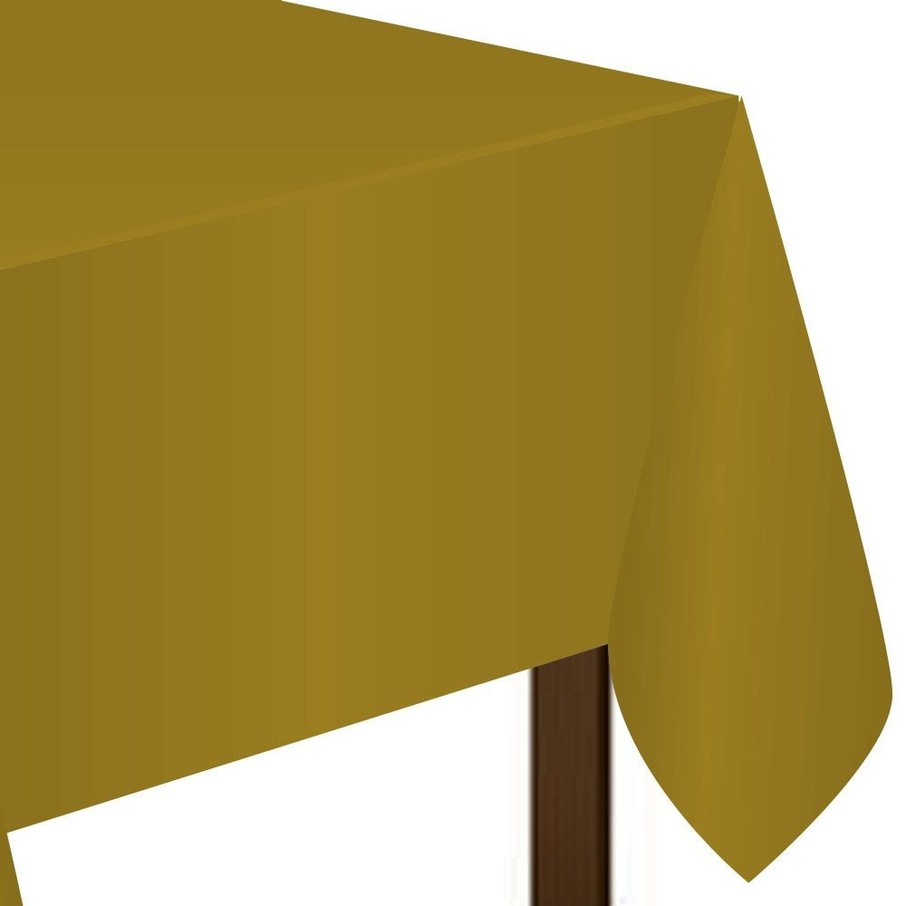 View larger image of Gold Plastic Tablecover (Each)