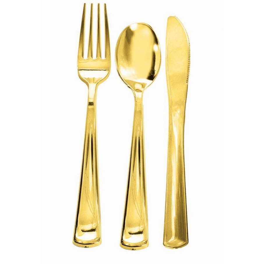 View larger image of Gold Plated Forks, 12ct