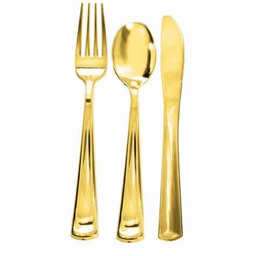 Gold Plated Forks, 12ct