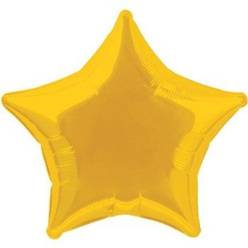Gold Star Balloon (each)