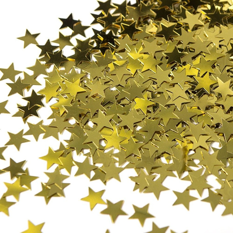View larger image of Gold Star Confetti .5oz (Each)