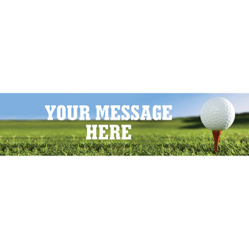 Golf Personalized Banner (Each)