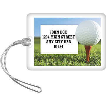 Golf Personalized Luggage Tag (Each)