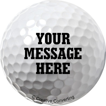 Golf Personalized Mini Stickers (Sheet of 24)