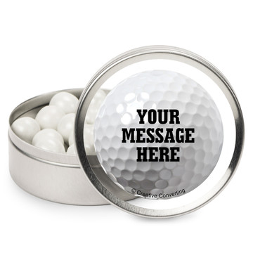 Golf Personalized Mint Tins (12 Pack)