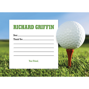 Golf Personalized Thank You (Each)