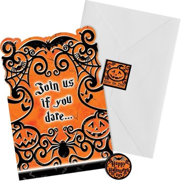 Gothic Greetings Invitation Set (20 Count)