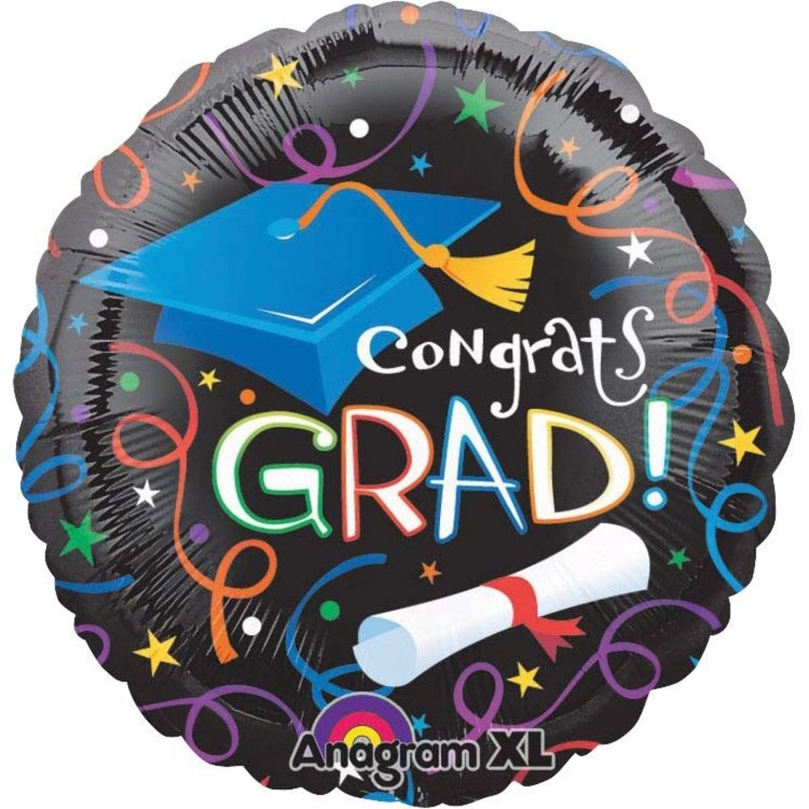 """View larger image of Grad Celebration 18"""" Balloon (Each)"""