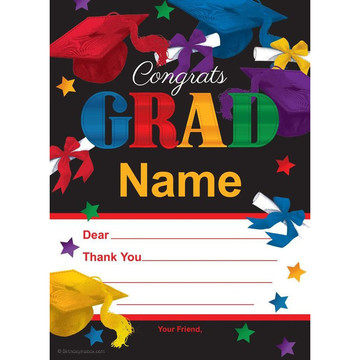 Grad Spirit Personalized Thank You (Each)