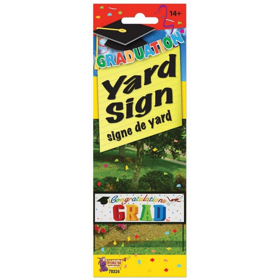 """View larger image of Grad Yard Banner - 10"""" X30"""""""