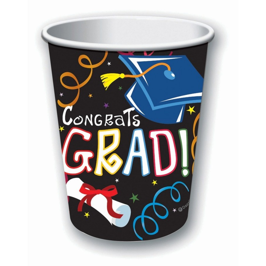 View larger image of Graduation 9oz Paper Cups (8)