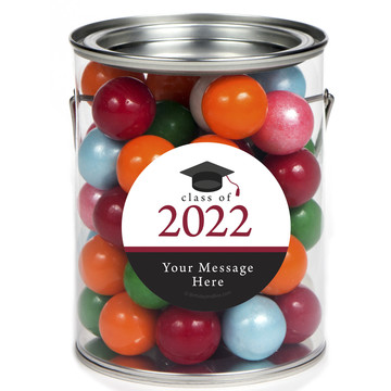 Graduation Day Burgundy Personalized Paint Cans (6 Pack)