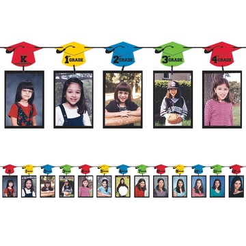 Graduation Photo 12ft. Garland Decoration (Each)
