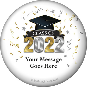 Graduation Year Personalized Button (Each)