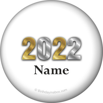 Graduation Year Personalized Mini Button (Each)