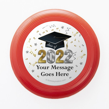 Graduation Year Personalized Mini Discs (Set of 12)