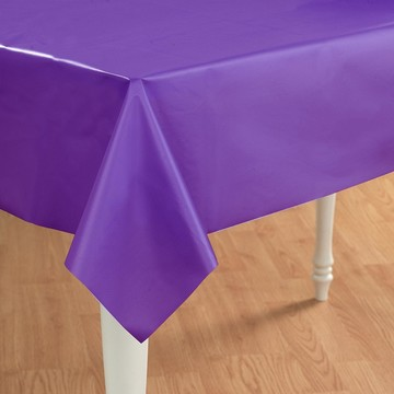 Grape Plastic Tablecover