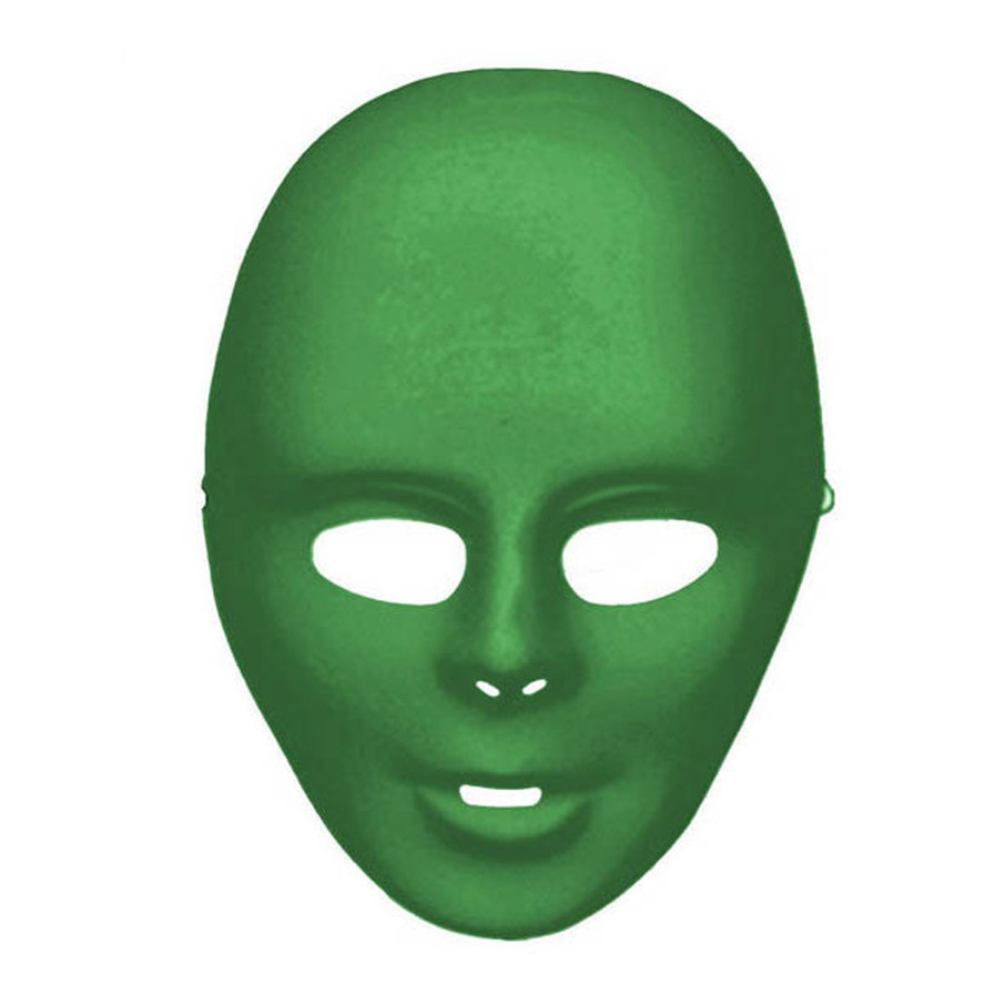 View larger image of Green Full Face Mask