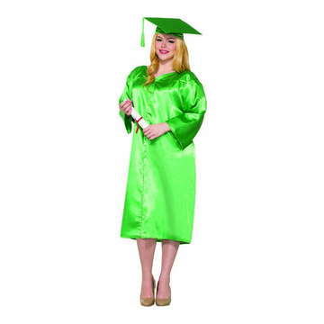 Green Graduation Adult Robe - One-Size