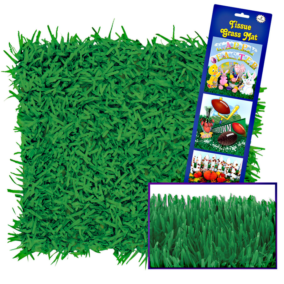View larger image of Green Grass Tissue Mats