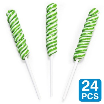 Green Lime Mini Unicorn Pops (24 Pack)