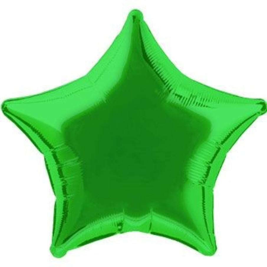 View larger image of Green Star Mylar Balloon (each)