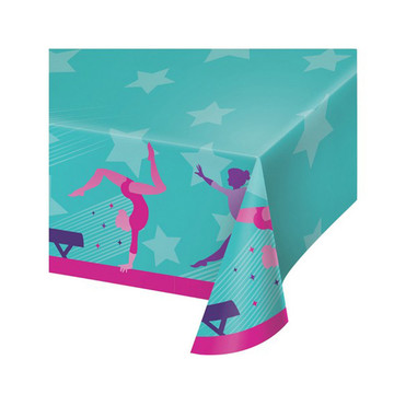 Gymnastics Party Paper Tablecover
