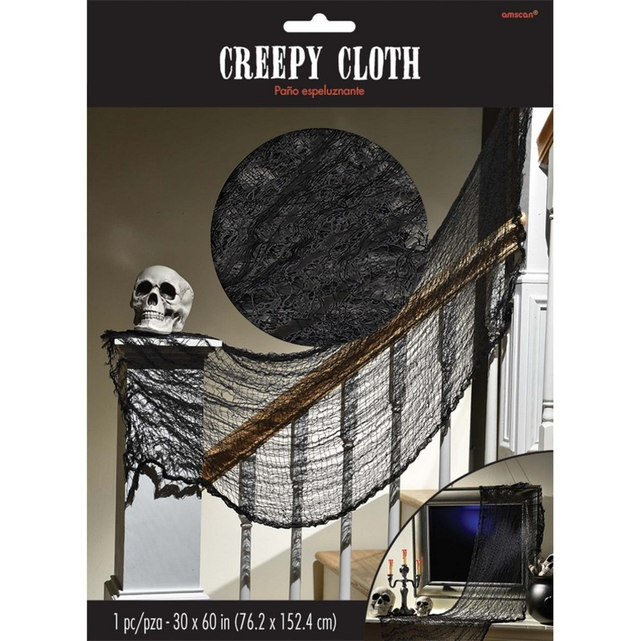 View larger image of Halloween Black Creepy Cloth