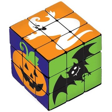 Halloween Character Plastic Puzzle Cube (6 Count)