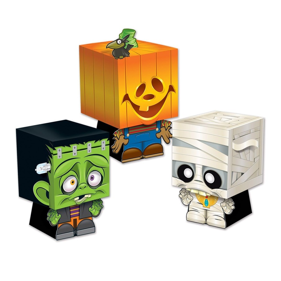 View larger image of Halloween Ghoulies Favor Boxes (3 Pack)