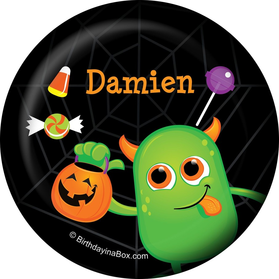 View larger image of Halloween Personalized Button (Each)