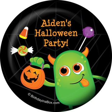 Halloween Personalized Magnet (Each)