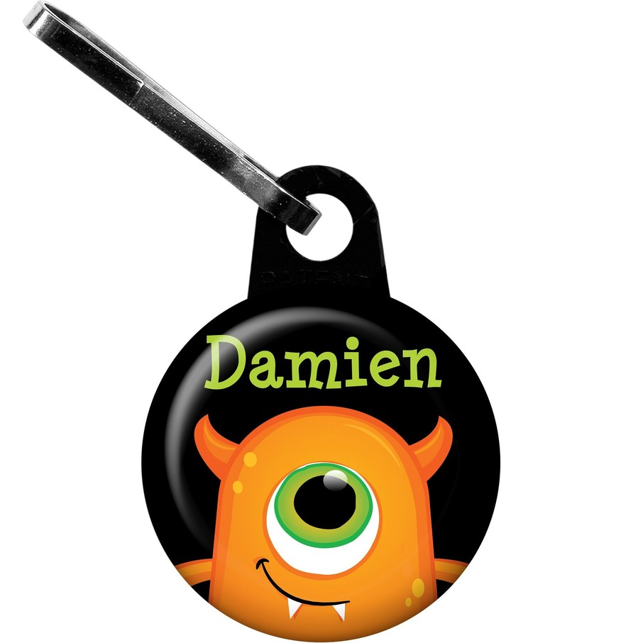 View larger image of Halloween Personalized Mini Zipper Pull (Each)