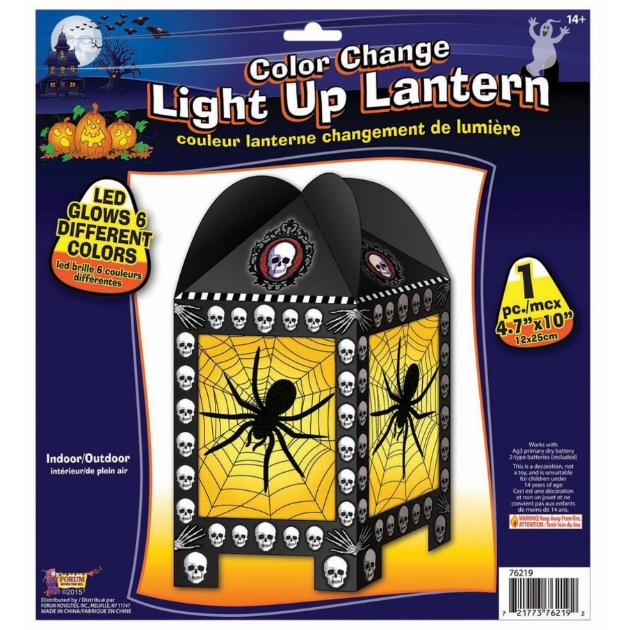 View larger image of Halloween Spider Lantern