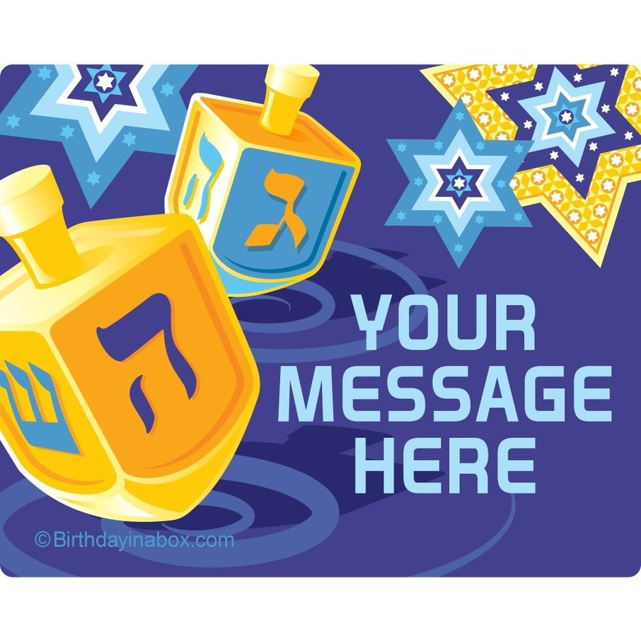 View larger image of Hanukkah Personalized Address Labels (Sheet of 15)