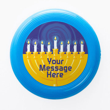 Hanukkah Personalized Mini Discs (Set of 12)