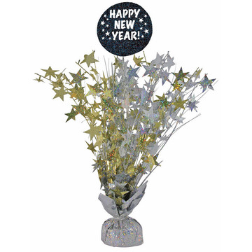 "Happy New Year 18"" Centerpiece (1)"