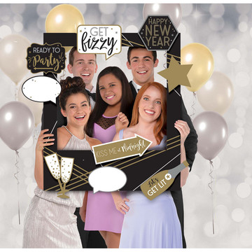 Happy New Year Customizable Giant Photo Frame
