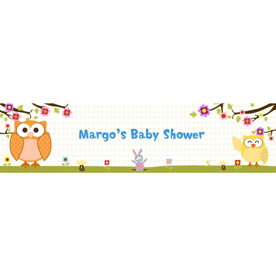 View larger image of Happy Tree Personalized Banner (Each)