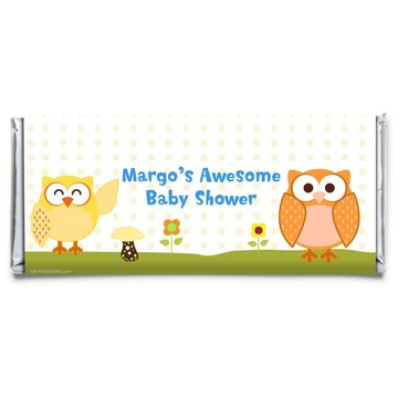 Happy Tree Personalized Candy Bar Wrapper (Each)