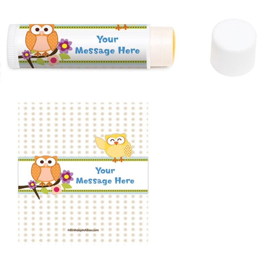 View larger image of Happy Tree Personalized Lip Balm (12 Pack)